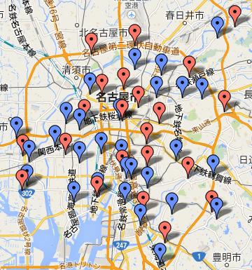 回収ボックス場所地図