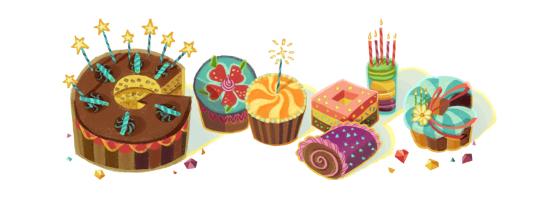 誕生日のGoogle