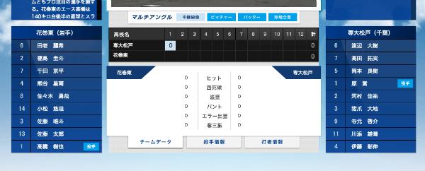 バーチャル高校野球02