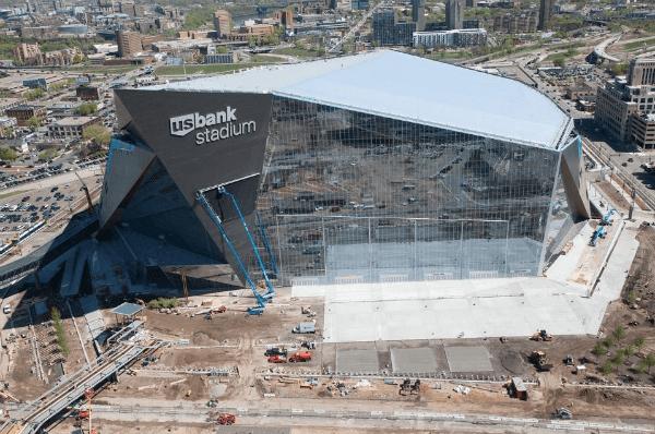 U.S. Bank Stadium Aerials