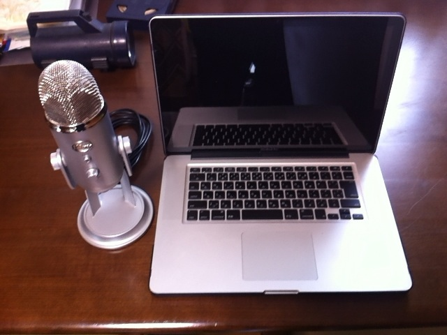 MacにUSBマイク試してみました【Yeti – イエティ】