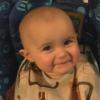 ちょっとホッコリ。赤ちゃんの感情が揺さぶられている映像