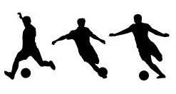 サッカーボールはブレるより、曲がったほうが興奮するなー