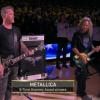 NBAファイナル第5戦。メタリカがアメリカ国歌を演奏!
