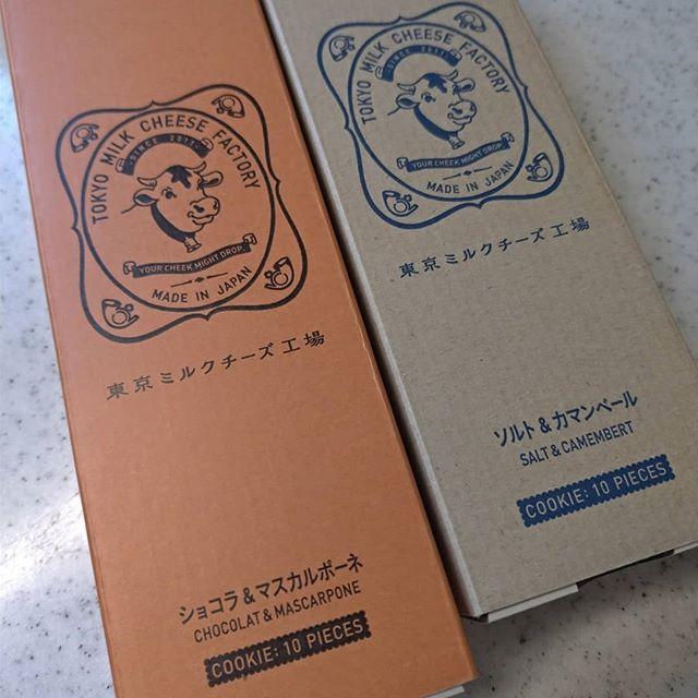 個人的、東京みやげNo1もらえると嬉しい新しい味でたみたい#おみやげ#東京ミルクチーズ工場 #ショコラ #マスカルポーネ #クッキー (from Instagram)