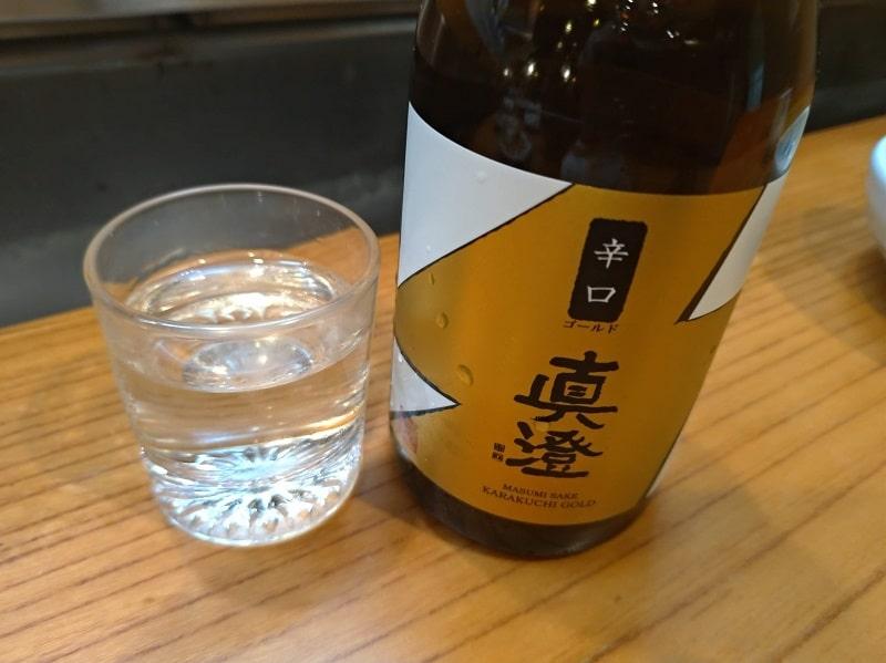 辛口日本酒「真澄」