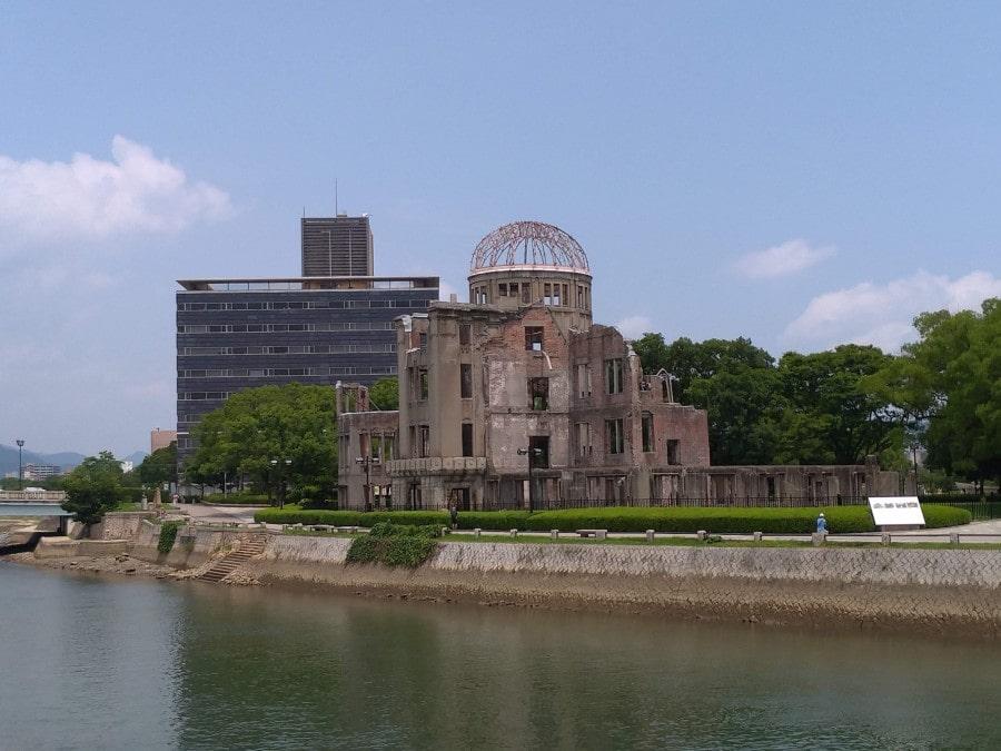 広島・原爆ドームの写真
